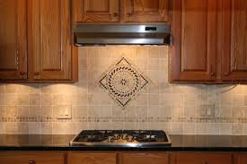 Backsplash Medallions Decorative Tile Backsplash And Hand Made - Kitchen medallion backsplash