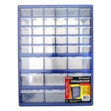 Multi Drawer Storage Cabinet Multi Compartment 39 Drawer Organiser Cabinet Garage Home Diy