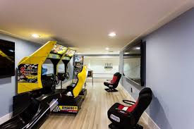 Kids Game Room Decor by Gaming Room Ideas Family Room Mediterranean With Wall Decor