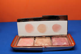 hourglass ambient strobe lighting blush palette hourglass ambient strobe lighting blush palette glows in 3 shades