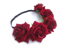 flower garland headband picture more detailed picture about high