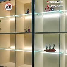 kitchen cabinet lighting brackets uke home decoration 8mm glass shelf brackets light led glass cabinet with led custom cabinet lighting