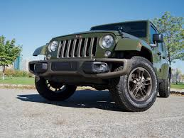 jeep unlimited green video review 2016 jeep wrangler unlimited 75th anniversary ny