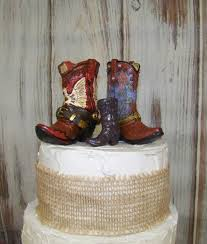 reserved for candice rustic cake topper his and her western