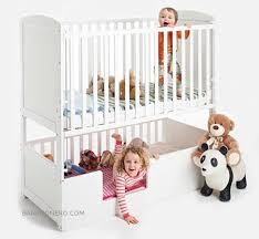 Crib Bunk Bed Bunk Bed With Crib On Bottom Awesome Cuna Cama Convertible Para