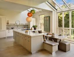 islands in kitchen kitchen island with built in seating the home design garden counter