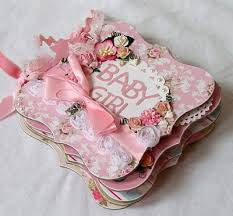 pretty photo albums pretty in pink this gorgeous baby girl mini album from papered