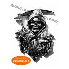 yamaha emblem emblem sticker reaper