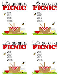 Invitation Card For Get Together Surprise Breakfast Picnic Free Printable Picnic Invitations