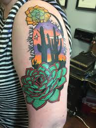 desert sunset by geary morrill at unkindness art richmond va
