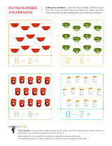 subtraction worksheets sparks