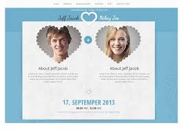 marriage invitation websites 20 best html templates for creating wedding website web