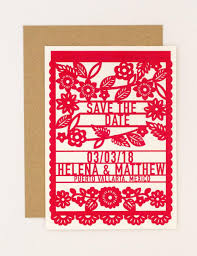 Destination Wedding Save The Date Destination Wedding Save The Date U2013 Colorful Mexican Fiesta Papel