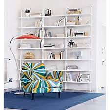 stairway wall mounted bookcase stairway 96 wall mounted bookcase in view all furniture cb2