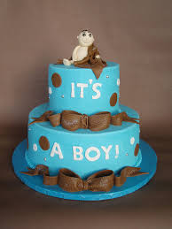baby shower cakes for boy monkey baby shower cakes for a boy in pristine boy baby shower baby