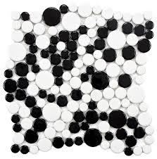 12 x12 porcelain floor wall mosaic tile glossy