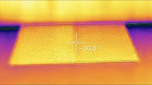 infrared look at basement subfloor panels youtube