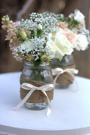 jar table decorations diy tutorial twine wrapped jars these would be table