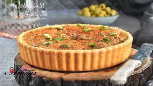 soulef amour de cuisine tarte salée de poulet au curry ou quiche de poulet au curry par