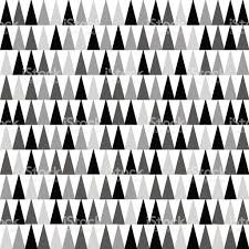 mixed black and grey triangles pointing upward seamless pattern