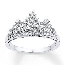 crown rings jewelry images Kay crown ring 1 5 ct tw diamonds sterling silver jpg