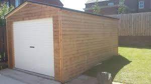 garage workshops wooden garage installations in bangor and northern ireland