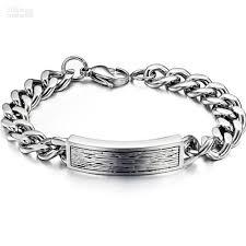 men steel bracelet images 2018 fashion cool men 39 s jewelry stainless steel bracelet handmade jpg
