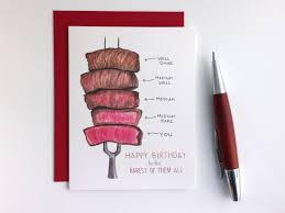 rarest of them all funny rare steak pun watercolor by gotamago