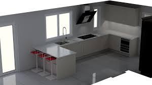 modern german kitchen in sheffield designed in a shaker style
