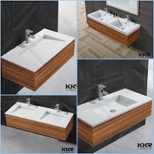 Stone Bathroom Sinks by Ceramic Like Mini Wash Basin Vanity Units Artificial Stone