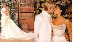 beckham wedding dress 10 iconic wedding dresses beckham david