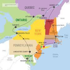 Map Of Canada Map Of Usa And Canada East Coast Maps Usa At Lapiccolaitalia Info