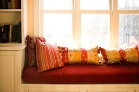 diy no sew bench cushion seat window seat cushion without sewing
