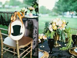 Black Gold Wedding Decorations Peach And Black Wedding Ideas Ruffled