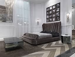 bedroom italian leather bed contemporary italian bedroom