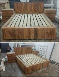 Home Decor With Wood Pallets Best 25 Pallet Bedroom Furniture Ideas On Pinterest Pallet