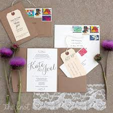 handmade invitations envelope idea to organize itinerary for overseas guests