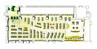 bookstore design floor plan portfolio