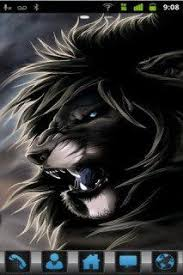themes mobile android download free black danger lion for android phone mobile theme htc