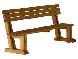 panchina in legno da esterno complementi 5 9 la pratolina