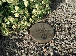 pet memorial garden stones cast concrete pet memorial and tribute step