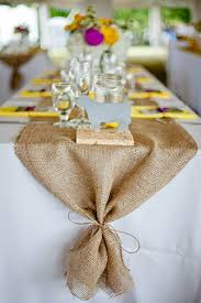 home decor table runner burlap table runner 12 14 15 width with ties wedding runner
