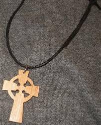 wooden celtic cross celtic cross necklace celtic cross celtic cross necklace