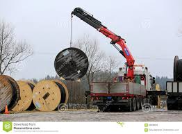 truck mounted crane stock photos images u0026 pictures 129 images