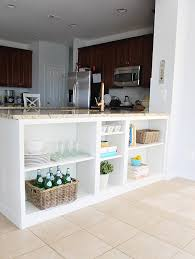 best counter make the best use of the space under your counter with diy shelves