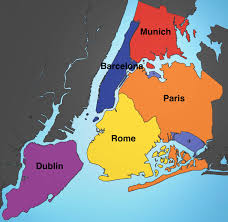 Metro Ny Map by These Maps Show Just How Big Nyc Is Compared To Other Cities