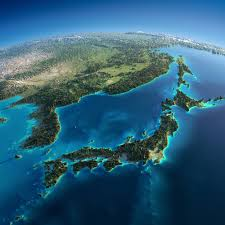 World Mountain Ranges Map by Exaggerated Relief Map Of Japan Korea And Northern China Maps