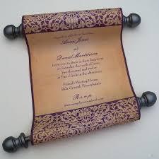 Images Of Wedding Programs Best 25 Scroll Wedding Invitations Ideas On Pinterest Scroll