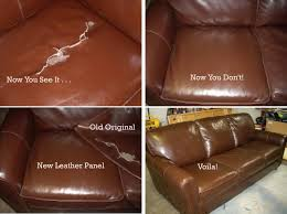 Leather Sofa Color Restoration by Wonderful Leather Couch Repair Tear For Design