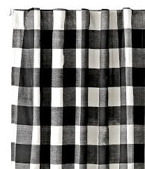 Black Gingham Curtains My Favorite Black And White Curtains Cuckoo4design
